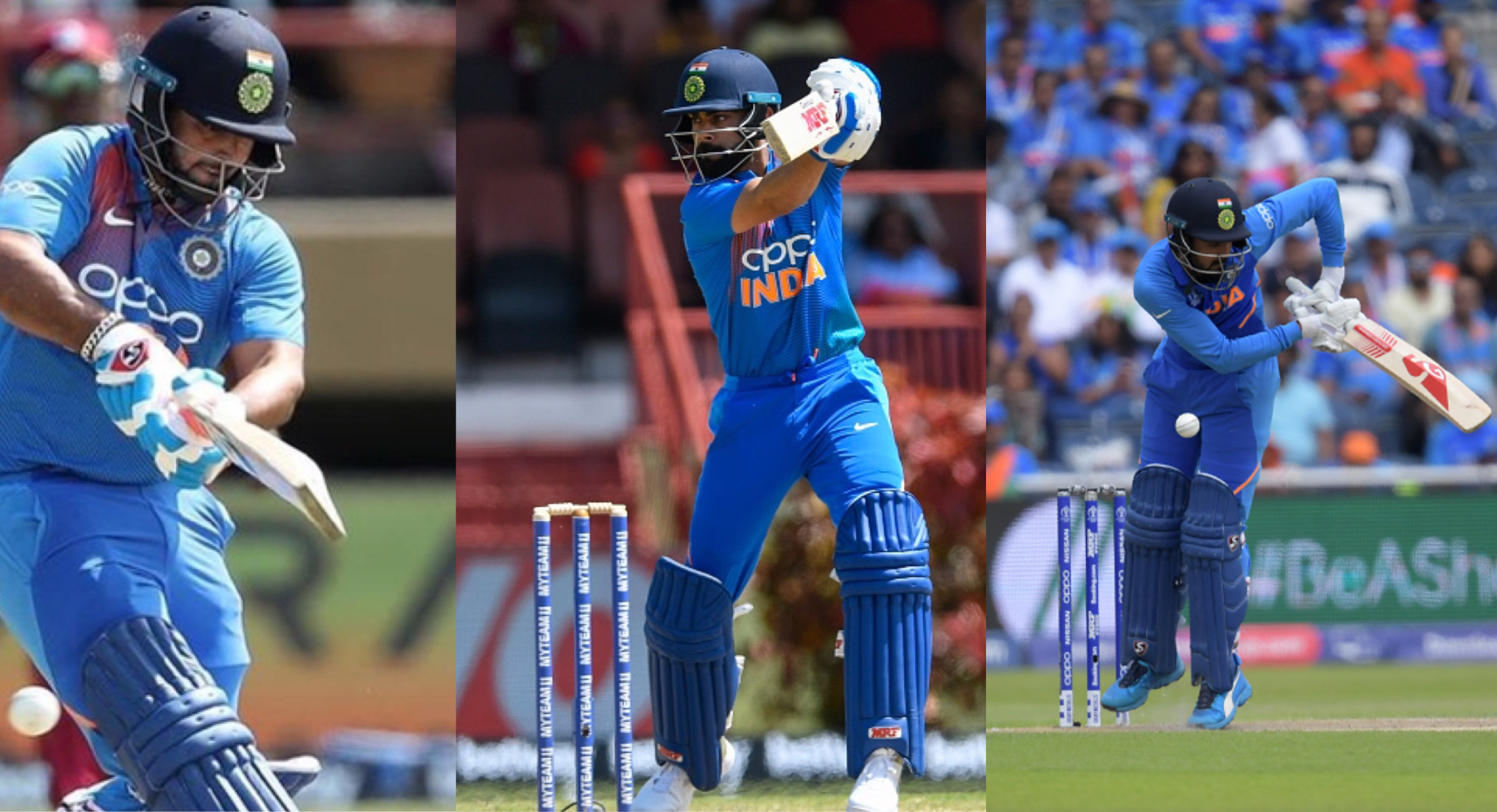 Kohli, Rahul and Pant will form the middle order | Getty