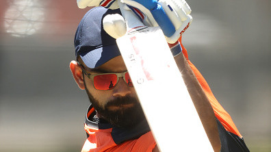 AUS v IND 2018-19: WATCH – Virat Kohli plays some cracking shots in nets at Adelaide Oval