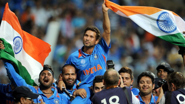 Sachin Tendulkar describes 2011 World Cup triumph as the ultimate moment of his life