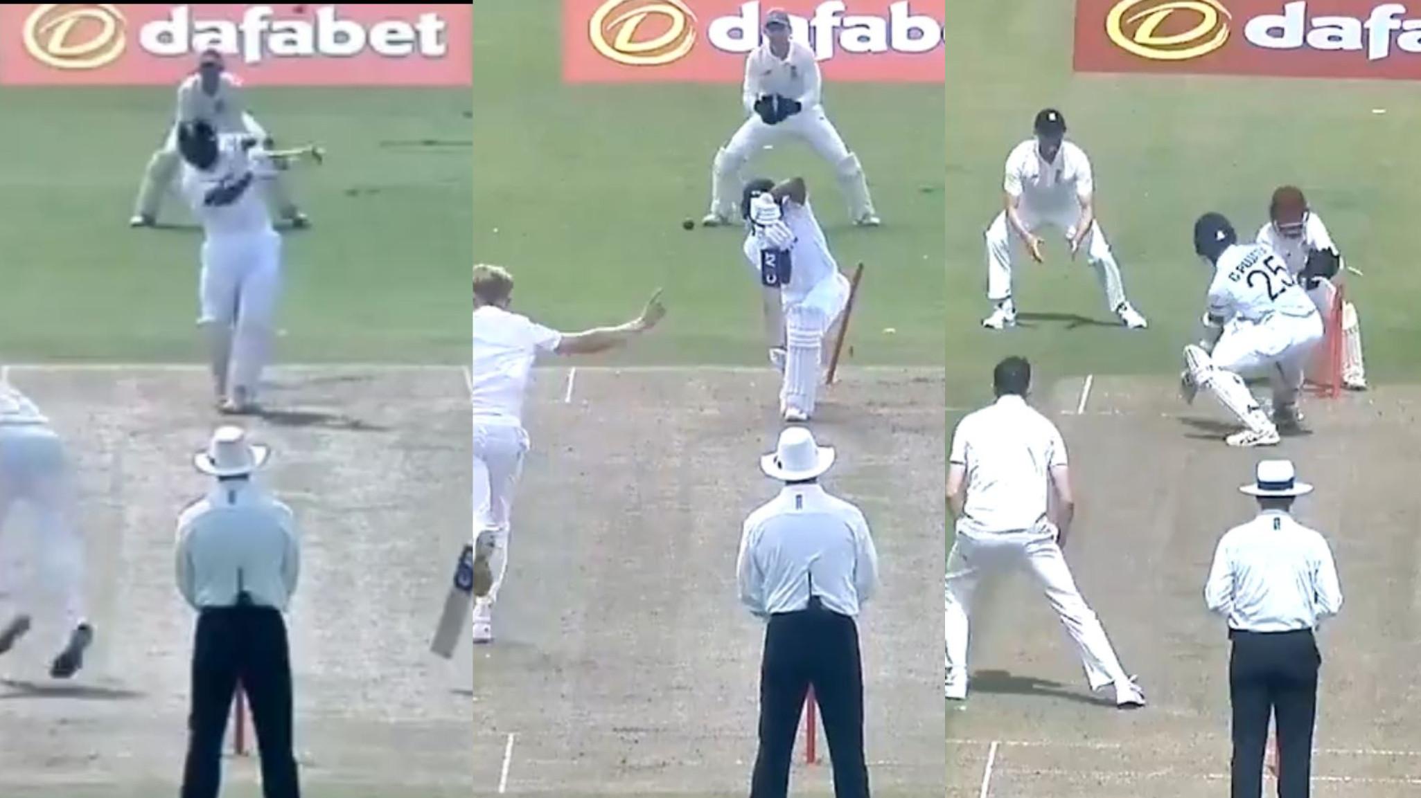 WATCH- India's top three Rohit Sharma, Mayank Agarwal and Cheteshwar Pujara flop in warm-up game
