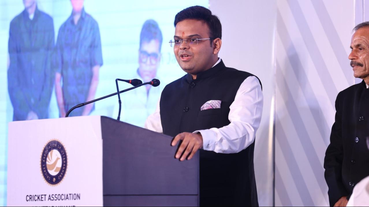 BCCI will look to make an international stadium in Uttarakhand: Secretary Jay Shah