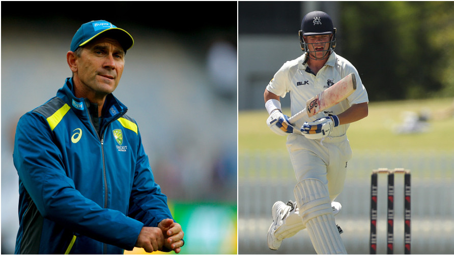 AUS v IND 2018-19: Justin Langer calls newcomer Marcus Harris his little brother