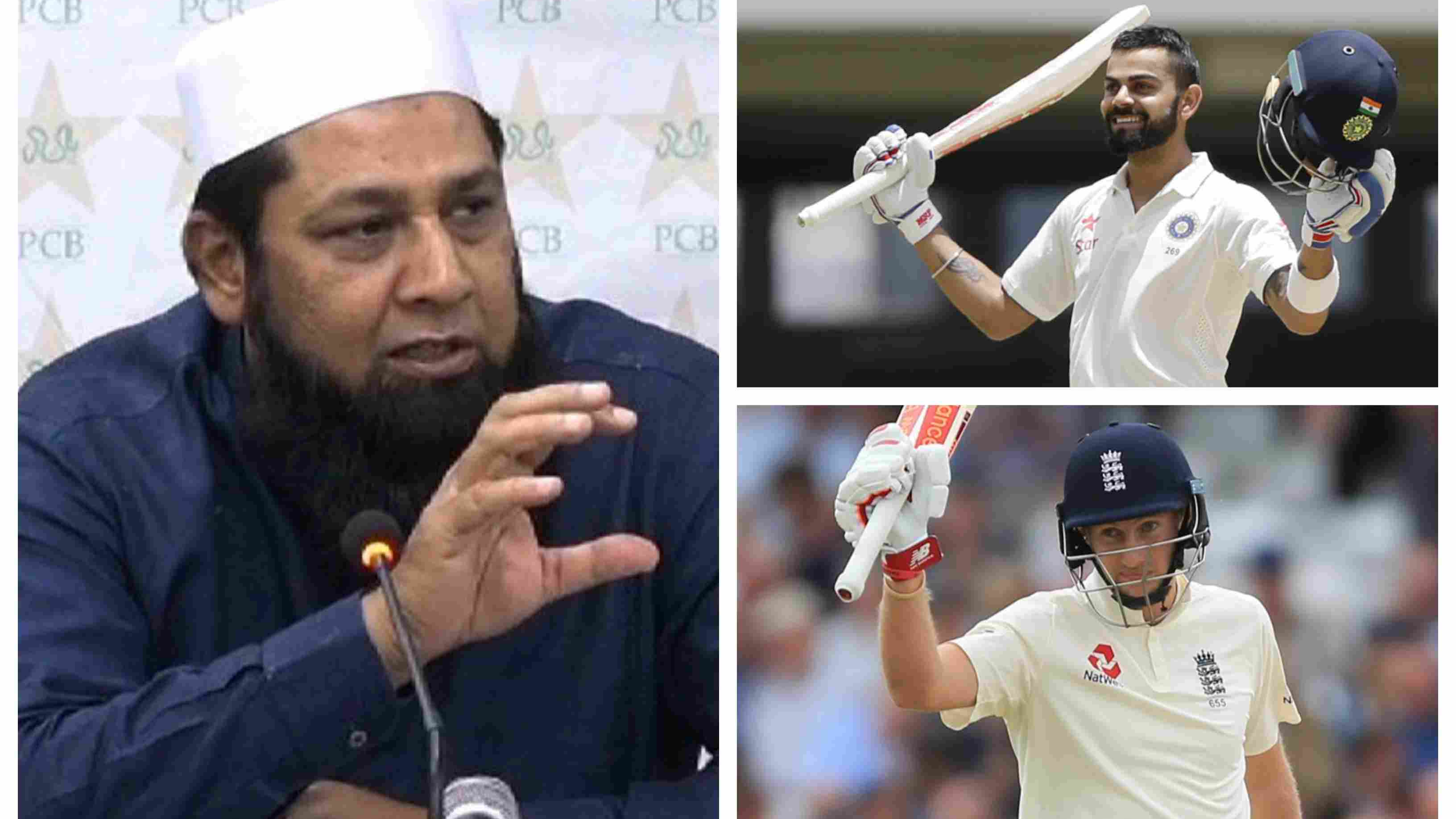 ENG v IND 2018: Inzamam-ul-Haq shares his views on Virat Kohli and Joe Root