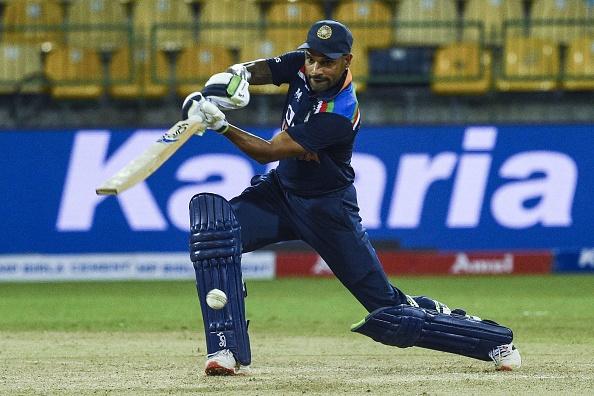 Dhawan scored unbeaten 89 against Sri Lanka in the 1st ODI of the series | Getty