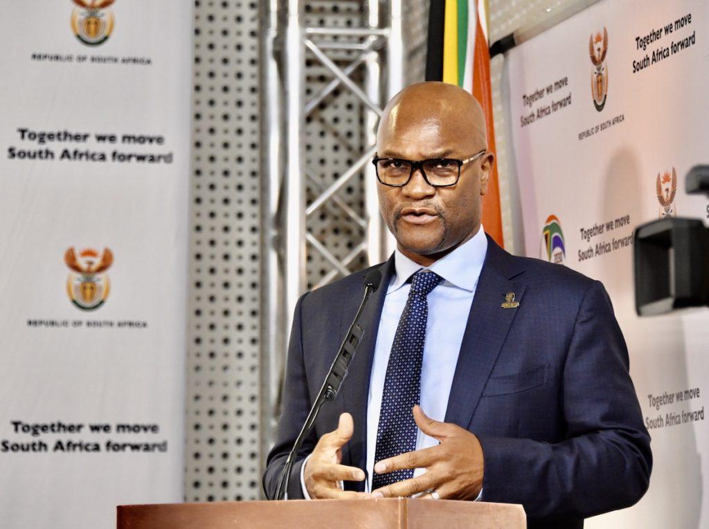 Sports minister Nathi Mthethwa