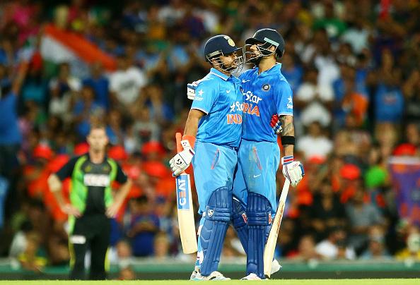 Virat Kohli and Suresh Raina   GETTY