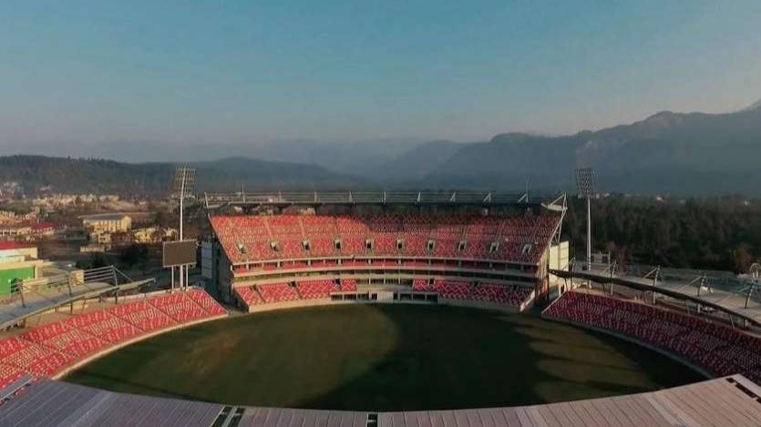 वादियों के बीच बने इस स्टेडियम को चुना गया अफगानिस्तान क्रिकेट टीम का घरेलू मैदान