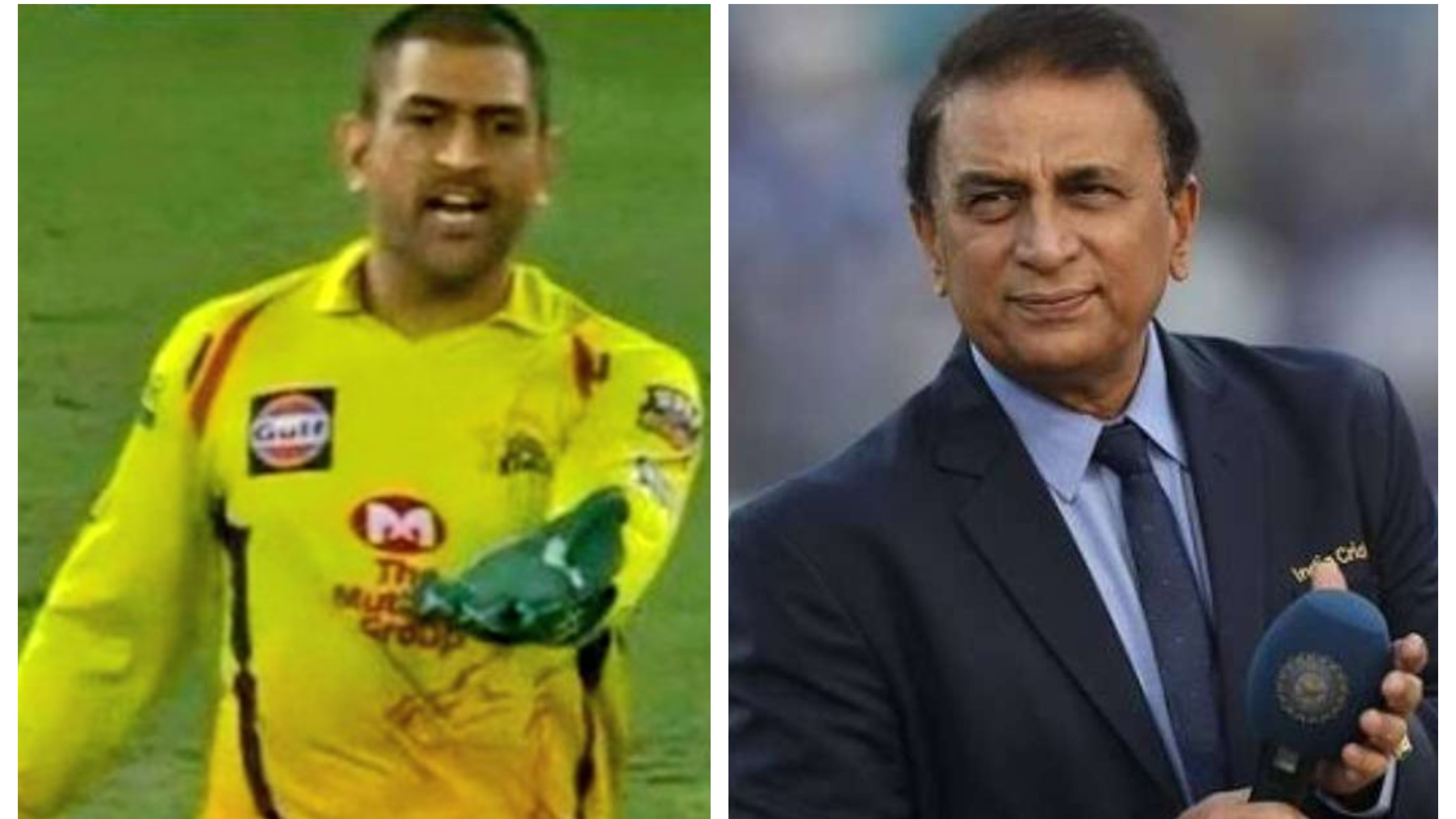 IPL 2020: 'He called out the batsman's movement', Gavaskar defends Dhoni on questioning umpire's wide call