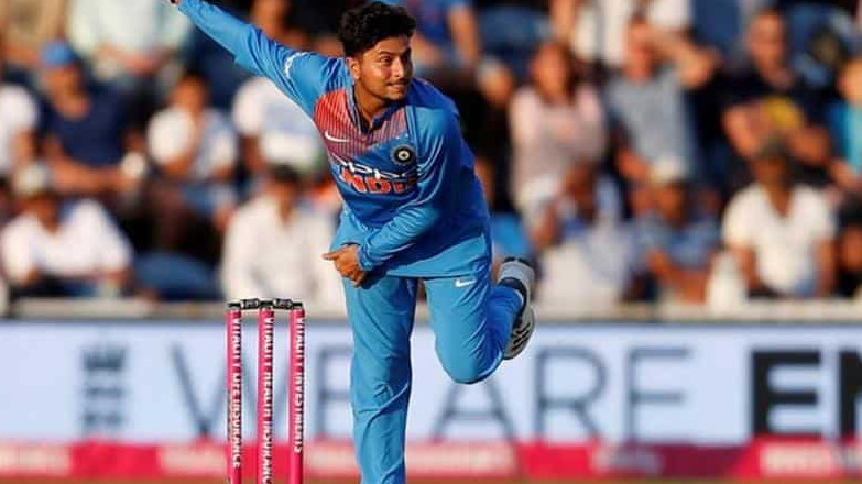 IND v WI 2018: Kuldeep Yadav stars with 3/13 as India restricts Windies to 109/8