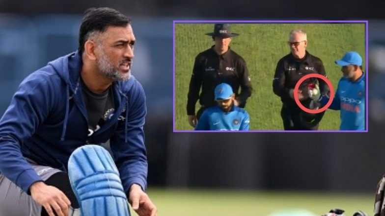 MS Dhoni's action sparked a lot of rumors on social media