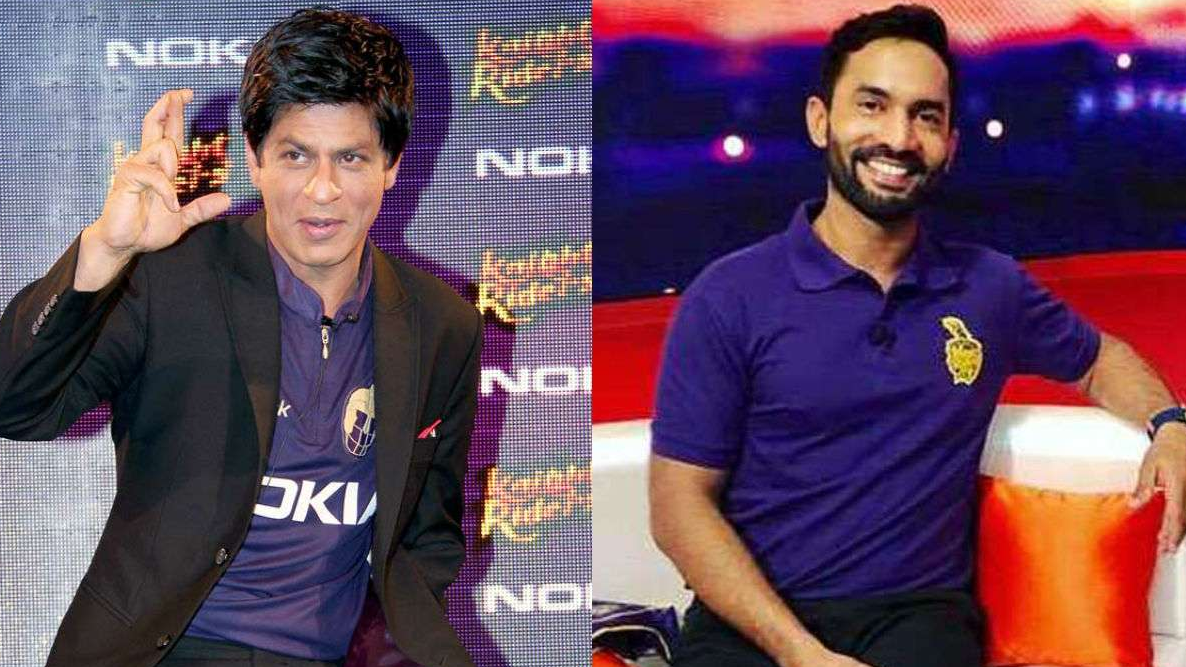 IPL 2018: Shah Rukh Khan applauds Dinesh Karthik and team after KKR's fantastic win over RCB