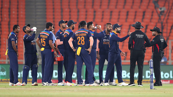 IND v ENG 2021: India fined for slow over-rate in fifth T20I