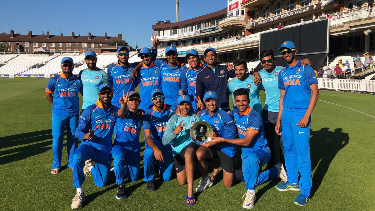 India A players share their elation of winning the tri-series on social media