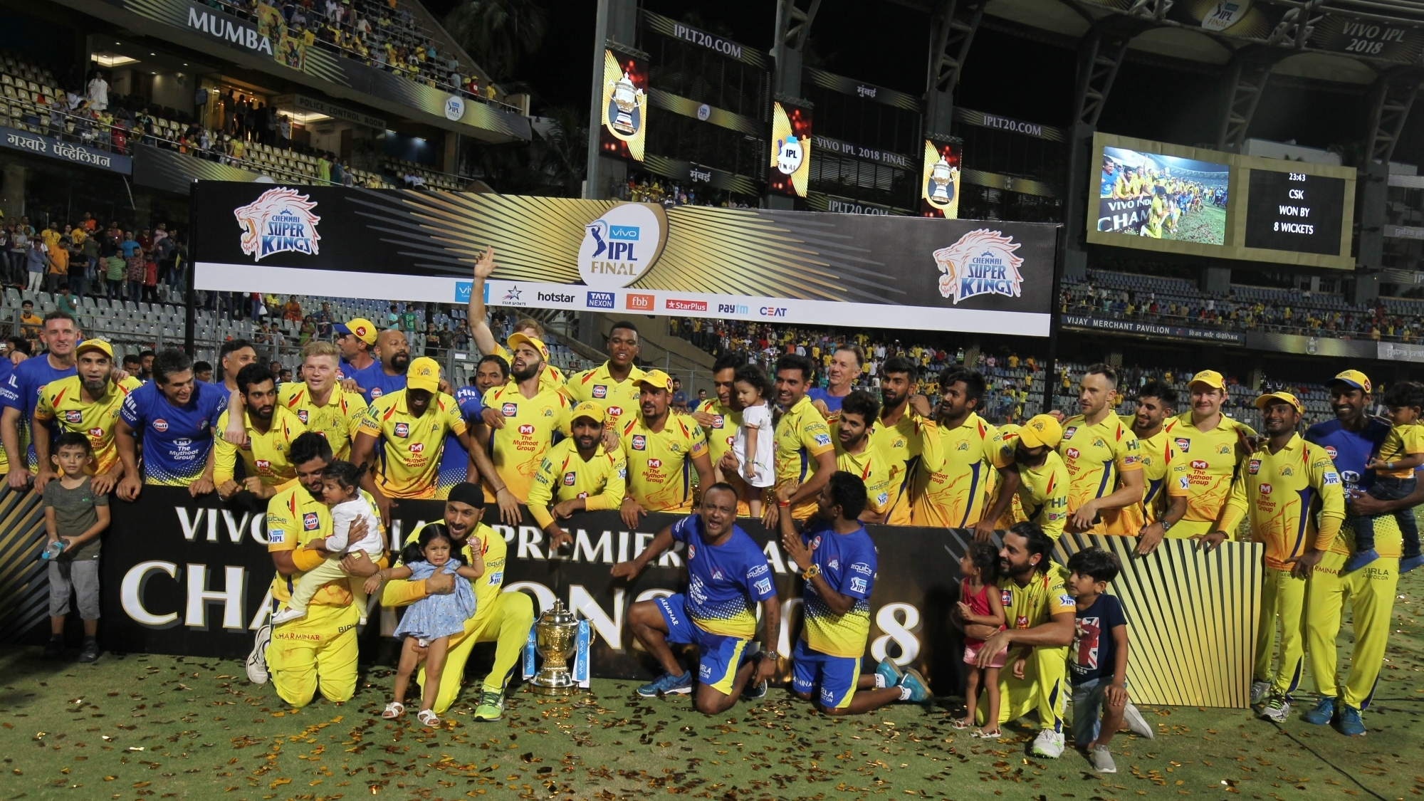 IPL 2018 : Chennai Super Kings (CSK) - Statistical Review for IPL 11