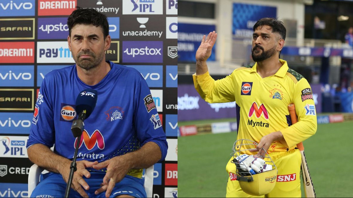 IPL 2021: Emotionally great for us - CSK coach Fleming on Dhoni's match-winning knock v DC