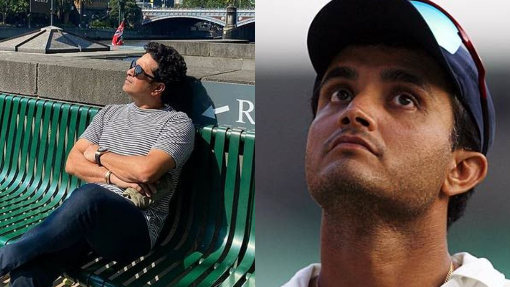 """Kisi ka kismet accha hai,"" Sourav Ganguly comments on Sachin's vacation post; Tendulkar replies"