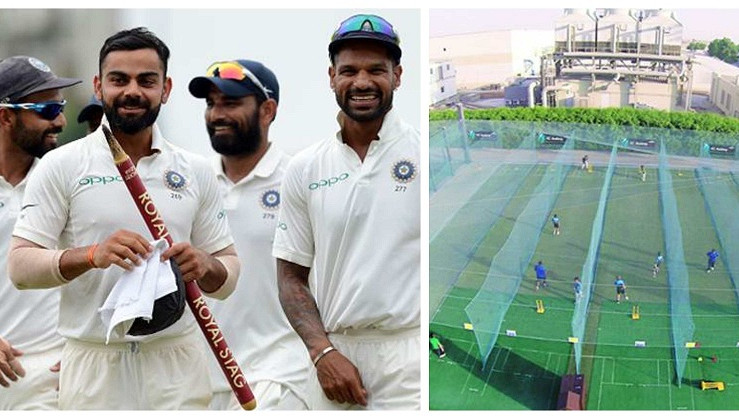 ICC Academy offers Australia like practice pitches to India to prepare for the tour down under