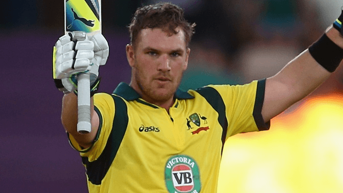 Finch would want to lead from the front in the T20I series | Getty