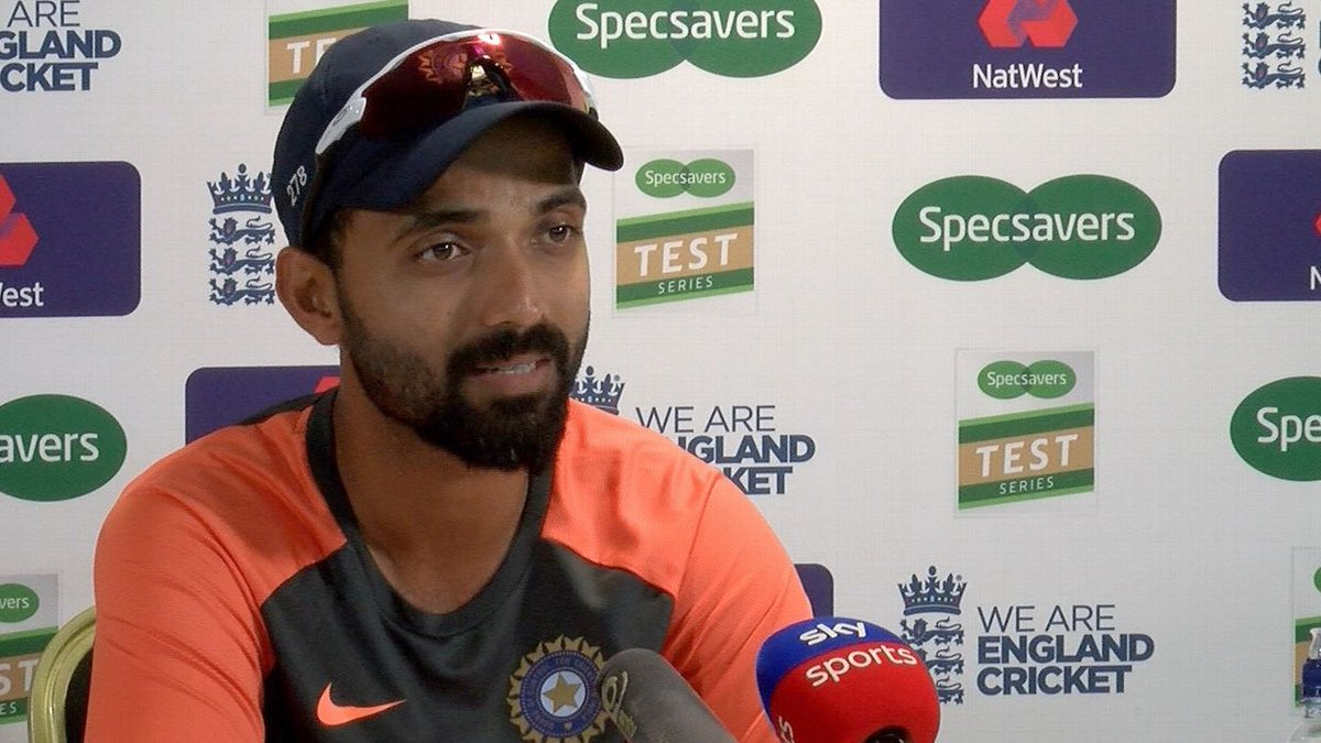 ENG v IND 2018: Ajinkya Rahane highlights the importance of 'patience' in fickle English weather