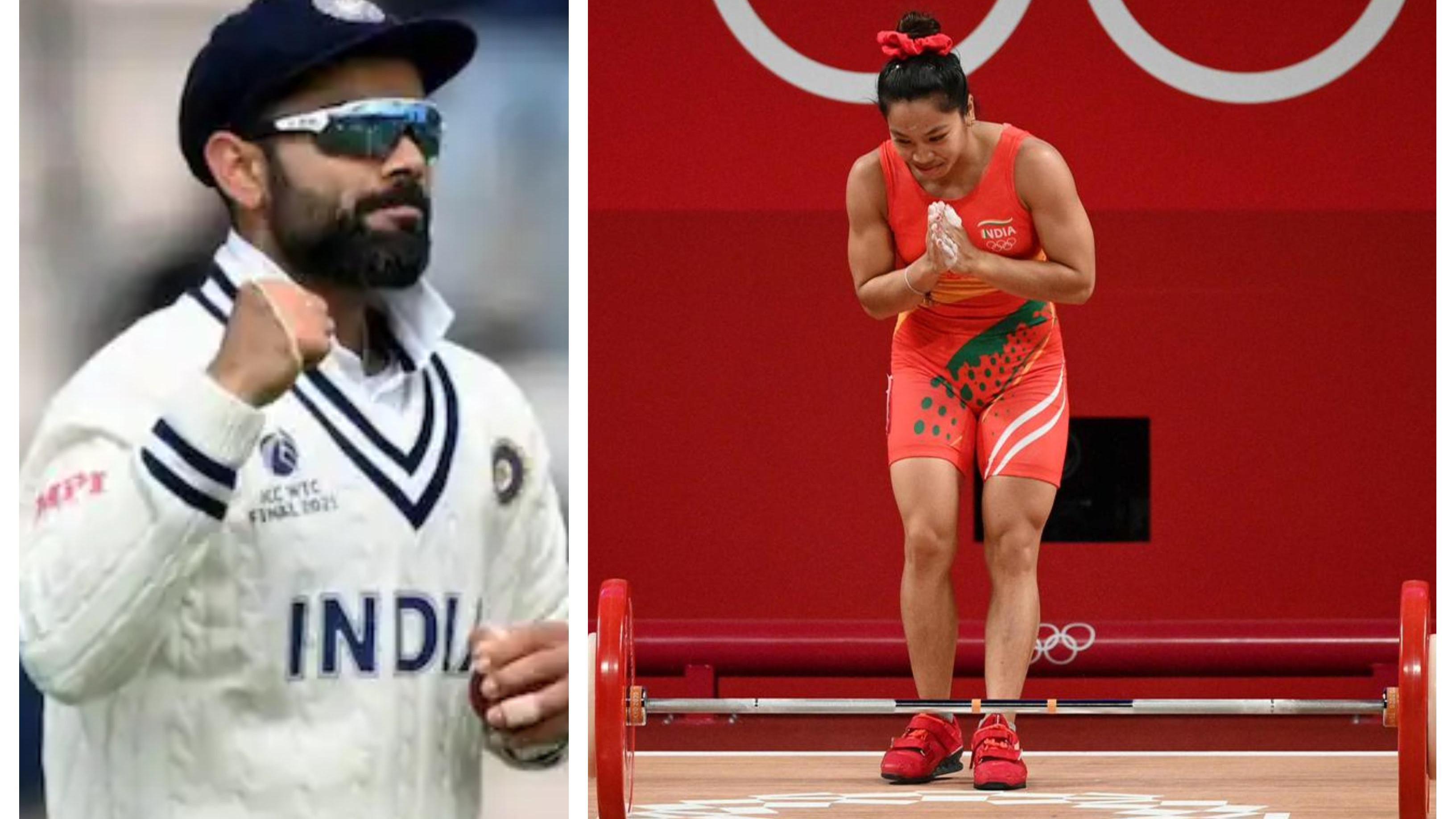 Virat Kohli lauds Mirabai Chanu for winning India its first medal at the 2020 Tokyo Olympics