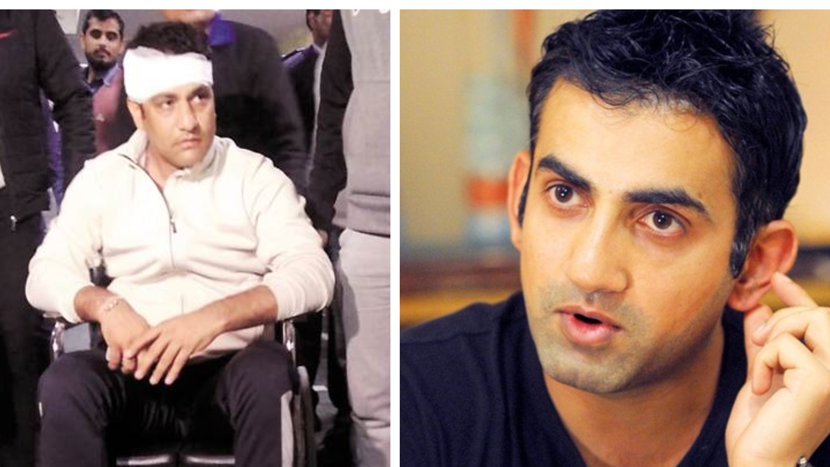 Gambhir wants lifetime ban on the player who planned an assault on Delhi selector Amit Bhandari