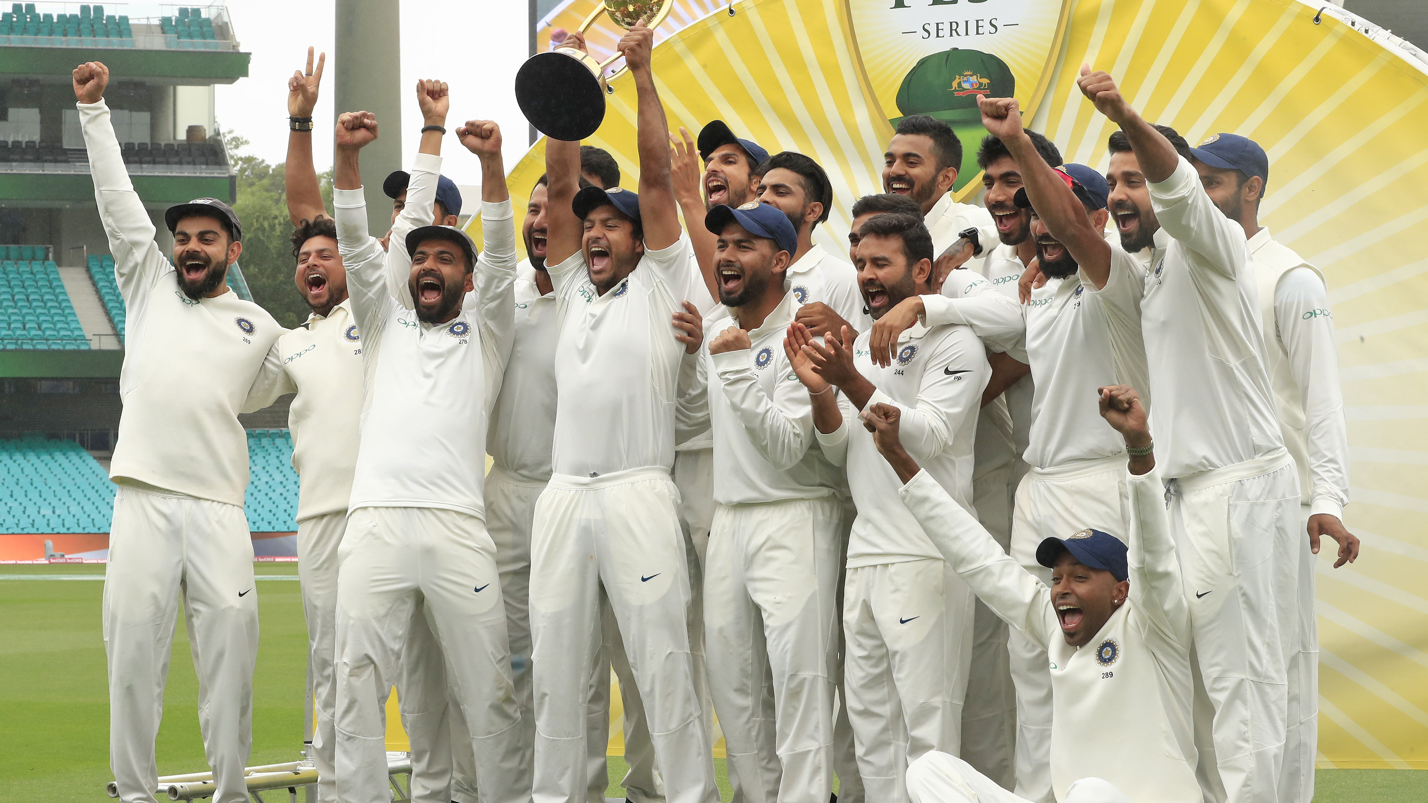 AUS v IND 2018-19: Indian cricket team shares their delight on Twitter after winning a historic Test series in Australia
