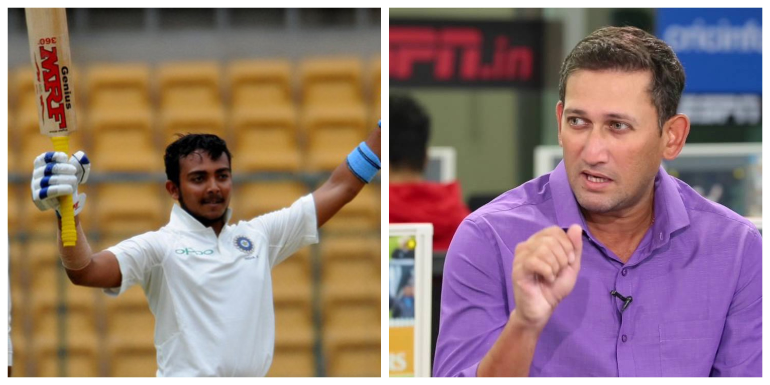 Agarkar believes Prithvi Shaw has what it takes.