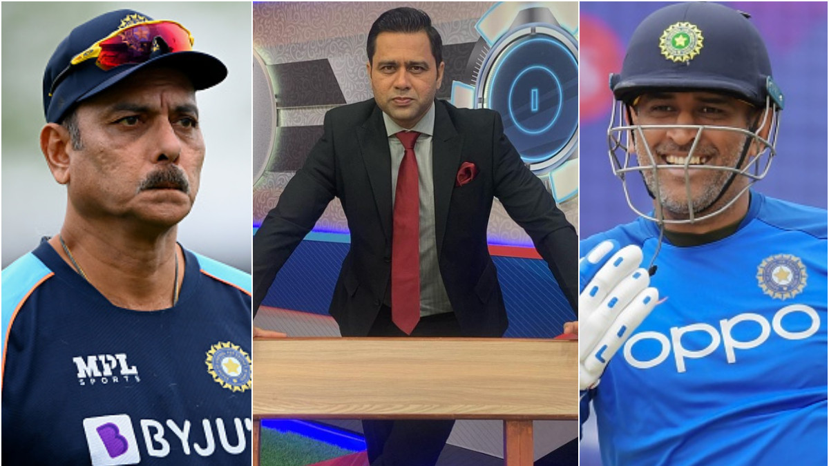 T20 World Cup 2021: Both MS Dhoni and Ravi Shastri strong characters- Aakash Chopra on any possible conflict