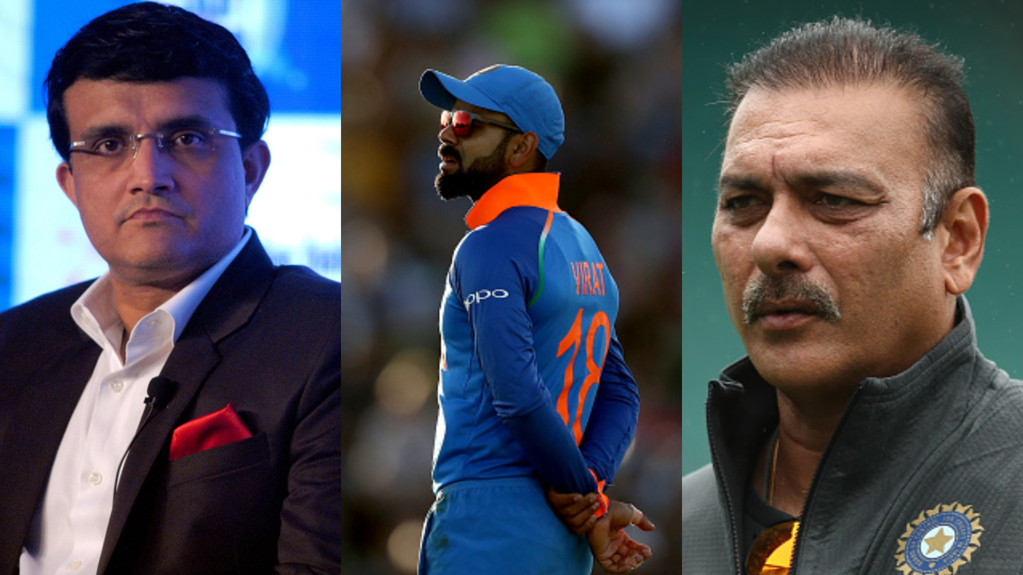 CWC 2019: Sourav Ganguly reacts to Ravi Shastri's idea of playing Virat Kohli at No. 4 in the World Cup