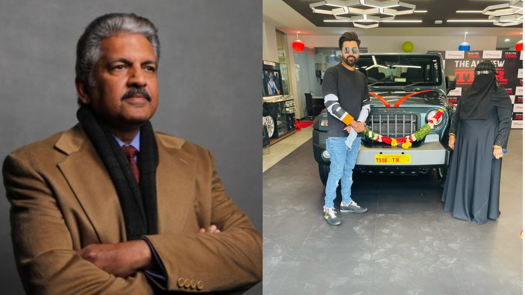 Mohammed Siraj says 'a big fat thank you' to Anand Mahindra for his gift of Mahindra Thar SUV
