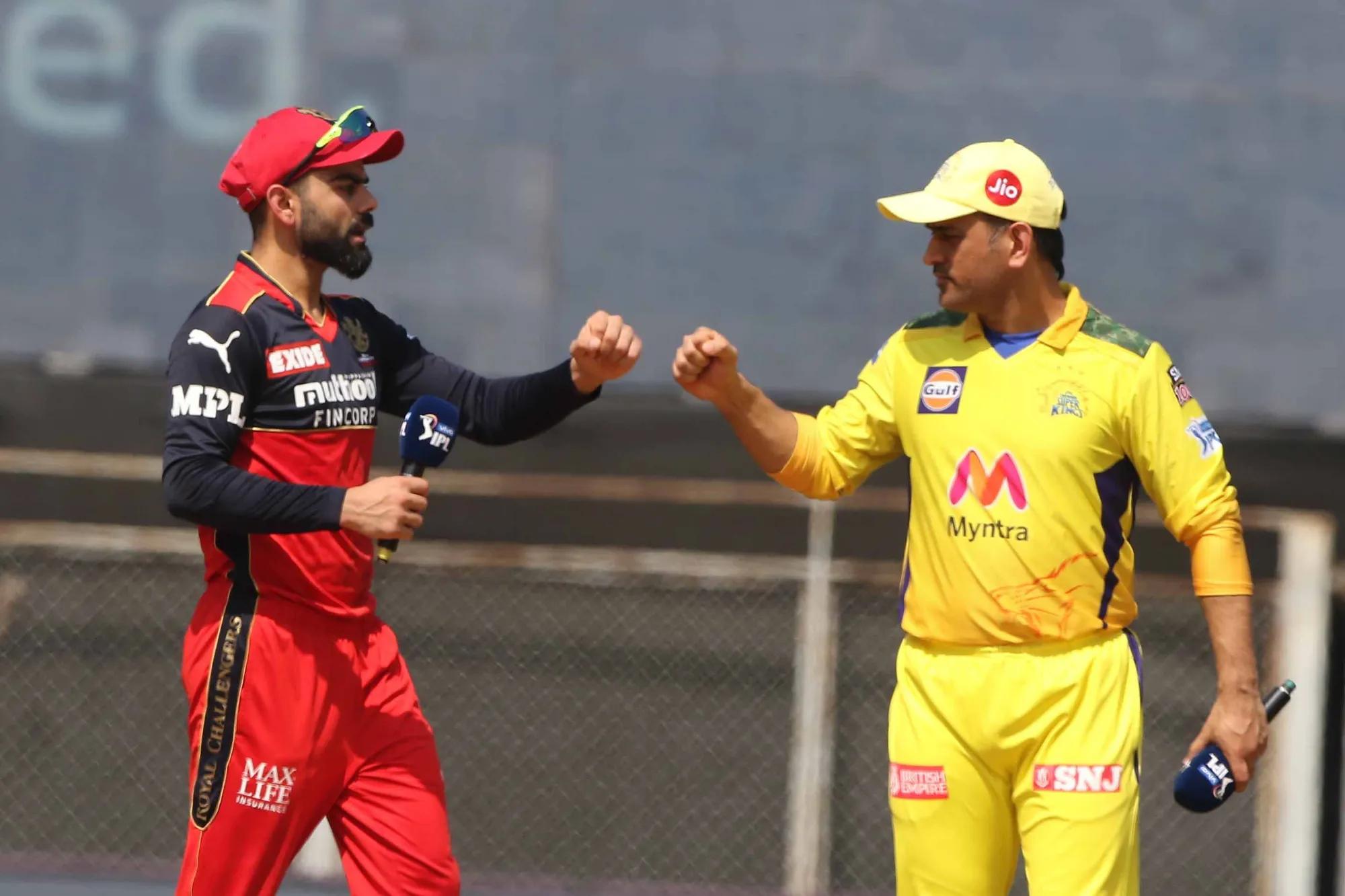 CSK had beaten RCB in the first half of the IPL 2021 in Mumbai | BCCI-IPL