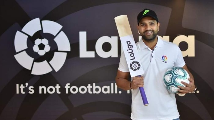 WATCH- La Liga's Indian ambassador Rohit Sharma has a heart-warming message for fans