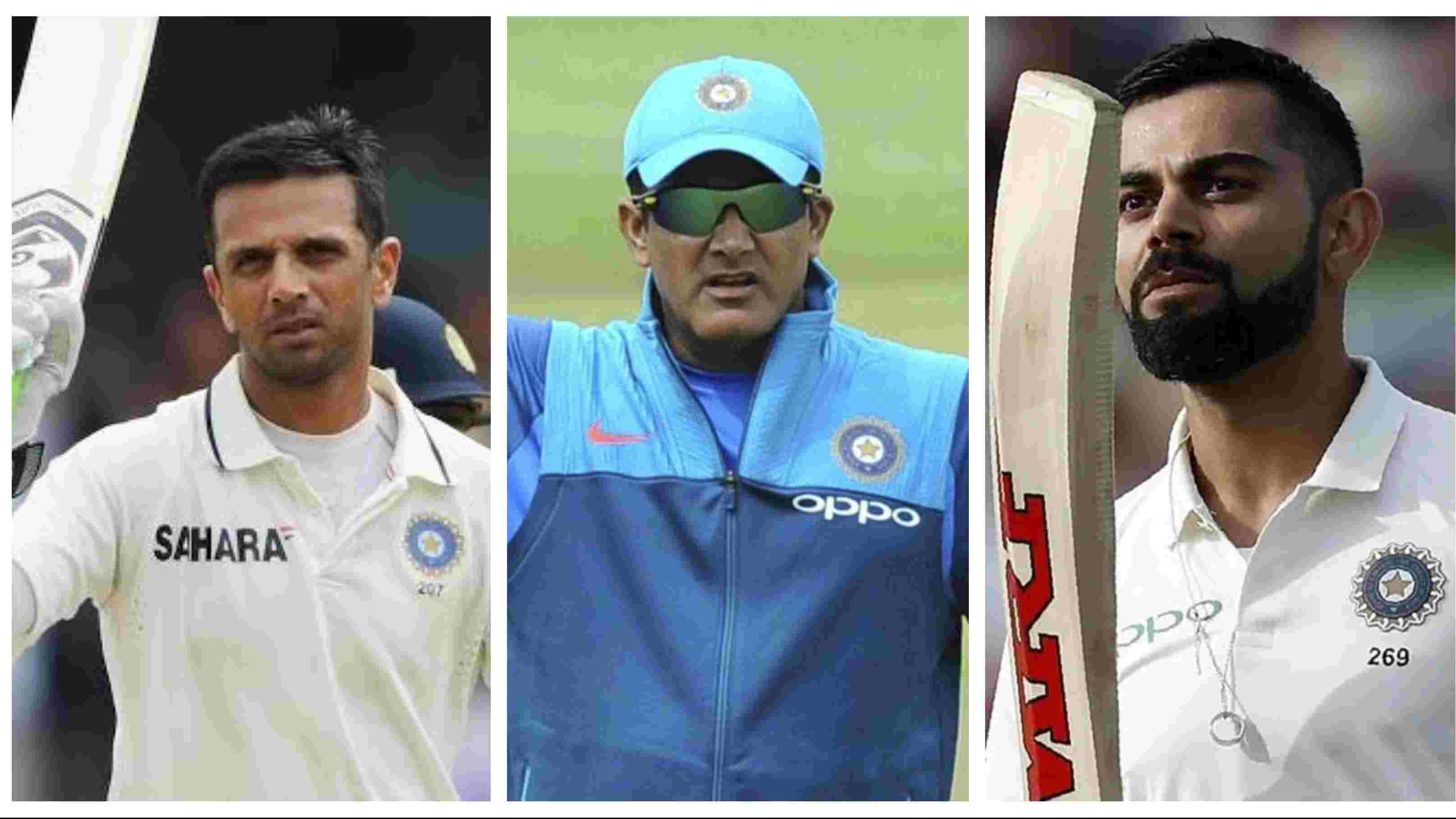 Anil Kumble picks his dream Indian Test XI since 1990