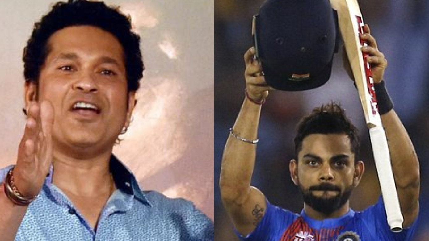 Sachin Tendulkar admits that he is fan of this shot of Virat Kohli