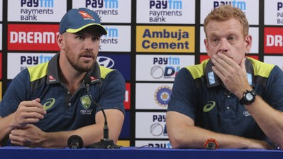 IND v AUS 2020: Aaron Finch as captain has been tremendous, says coach McDonald