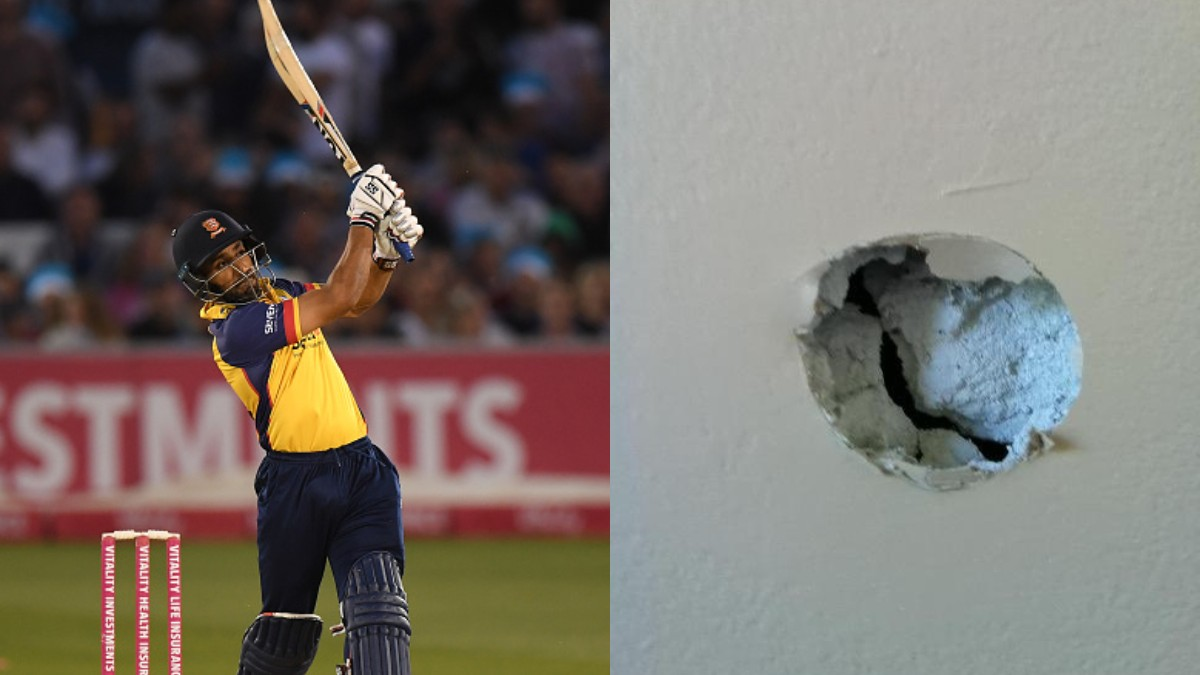 Ravi Bopara shows why work from home is not ideal for cricketers