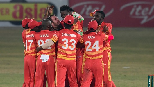 PAK v ZIM 2020: Zimbabwe wins the 3rd ODI in super over; Williams and Muzarabani star
