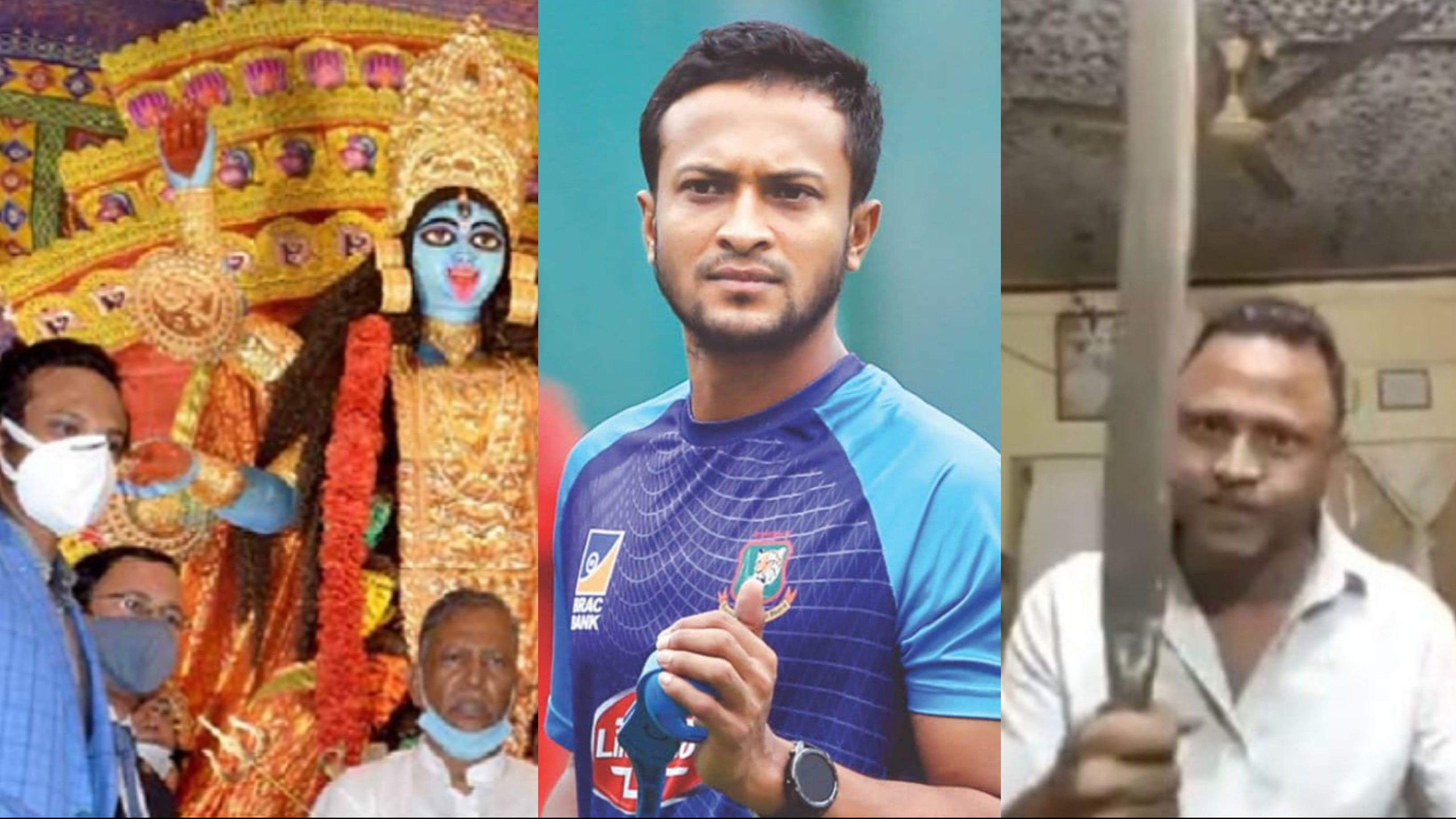 Bangladeshi man giving Shakib Al Hasan death threats for attending Kali puja arrested