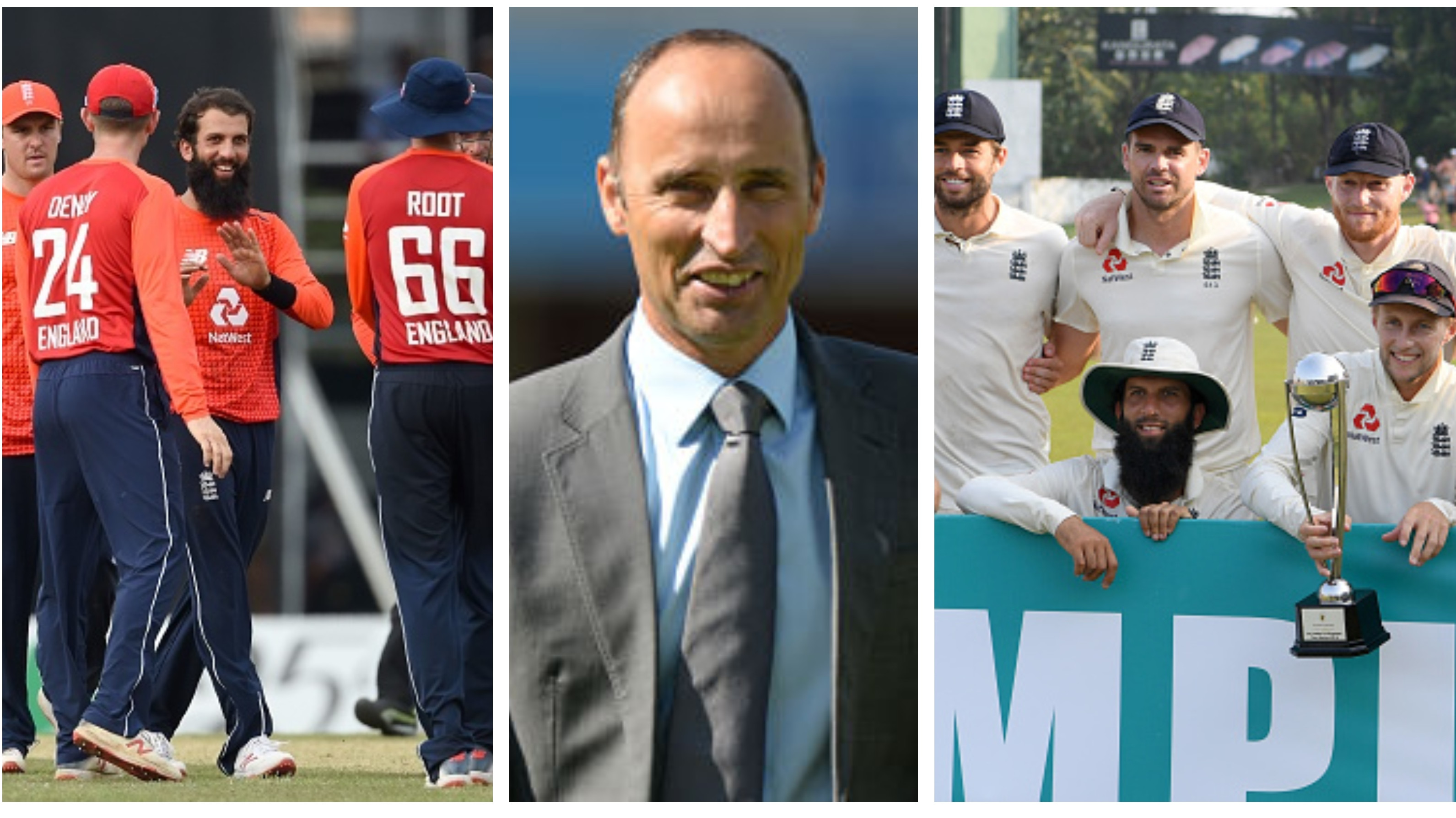 Nasser Hussain expects England to win the World Cup and Ashes in 2019