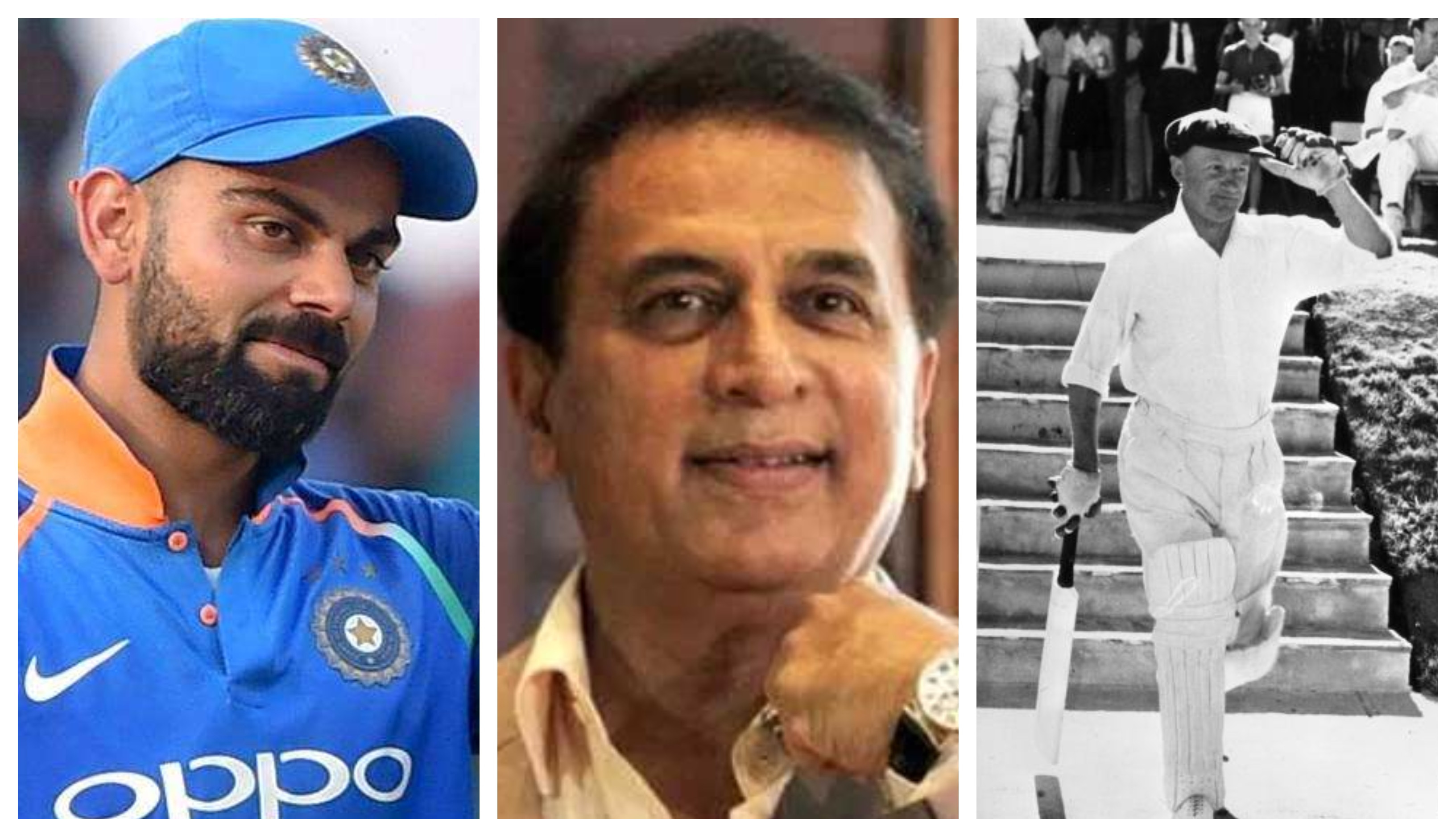 IND v WI 2018: Gavaskar compares Virat Kohli with Sir Don Bradman