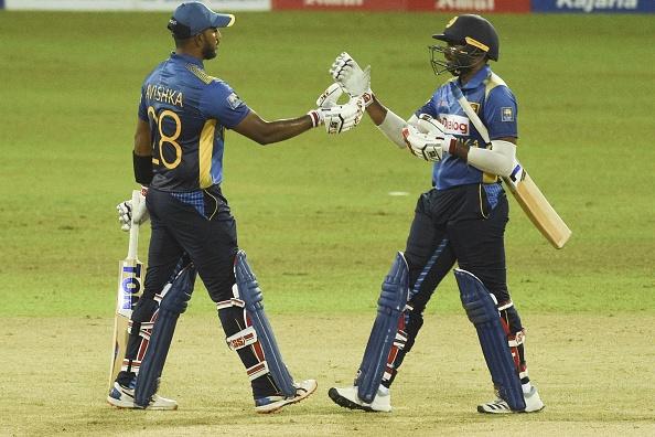 Avishka Fernando and Bhanuka Rajapaksa added 109 runs for the second wicket | Getty