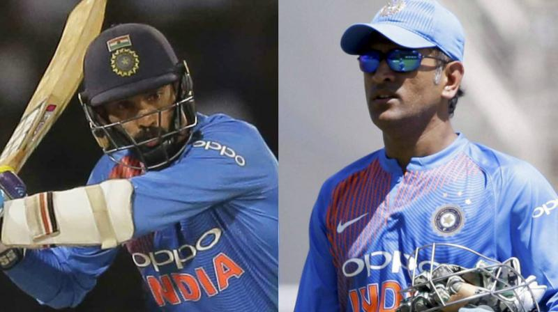 Dinesh Karthil might play in place of MS Dhoni in the 2nd T20I vs Ireland