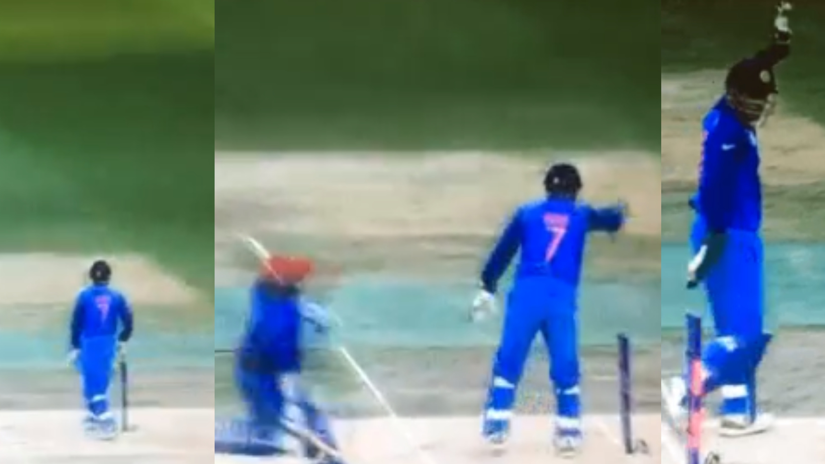 Asia Cup 2018: WATCH- MS Dhoni's amazing glove-work against Afghanistan leaves everyone in awe