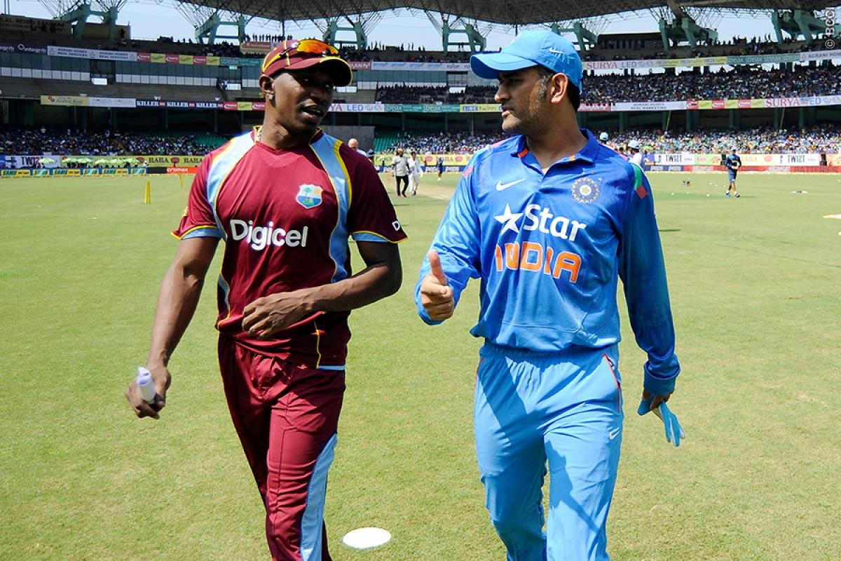 MS Dhoni and Darren Bravo will join their teams during the limited overs leg of the series. (AFP)