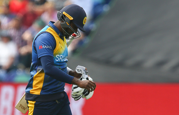 Angelo Mathews' form is a big concern for Lankans | Getty