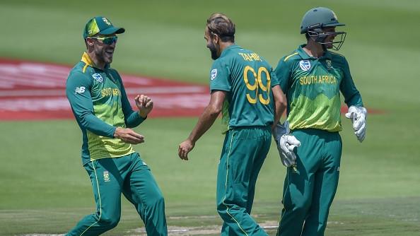 SA v SL 2019: Faf du Plessis in praise of Imran Tahir after the first ODI