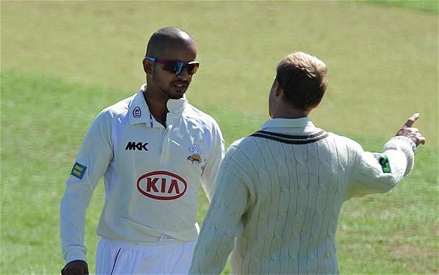 Murali Kartik was involved in a controversy featuring Alex Barrow | AFP