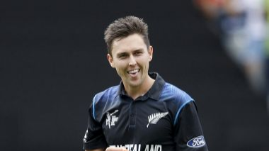 Trent Boult wins the prestigious Richard Hadlee medal for the year
