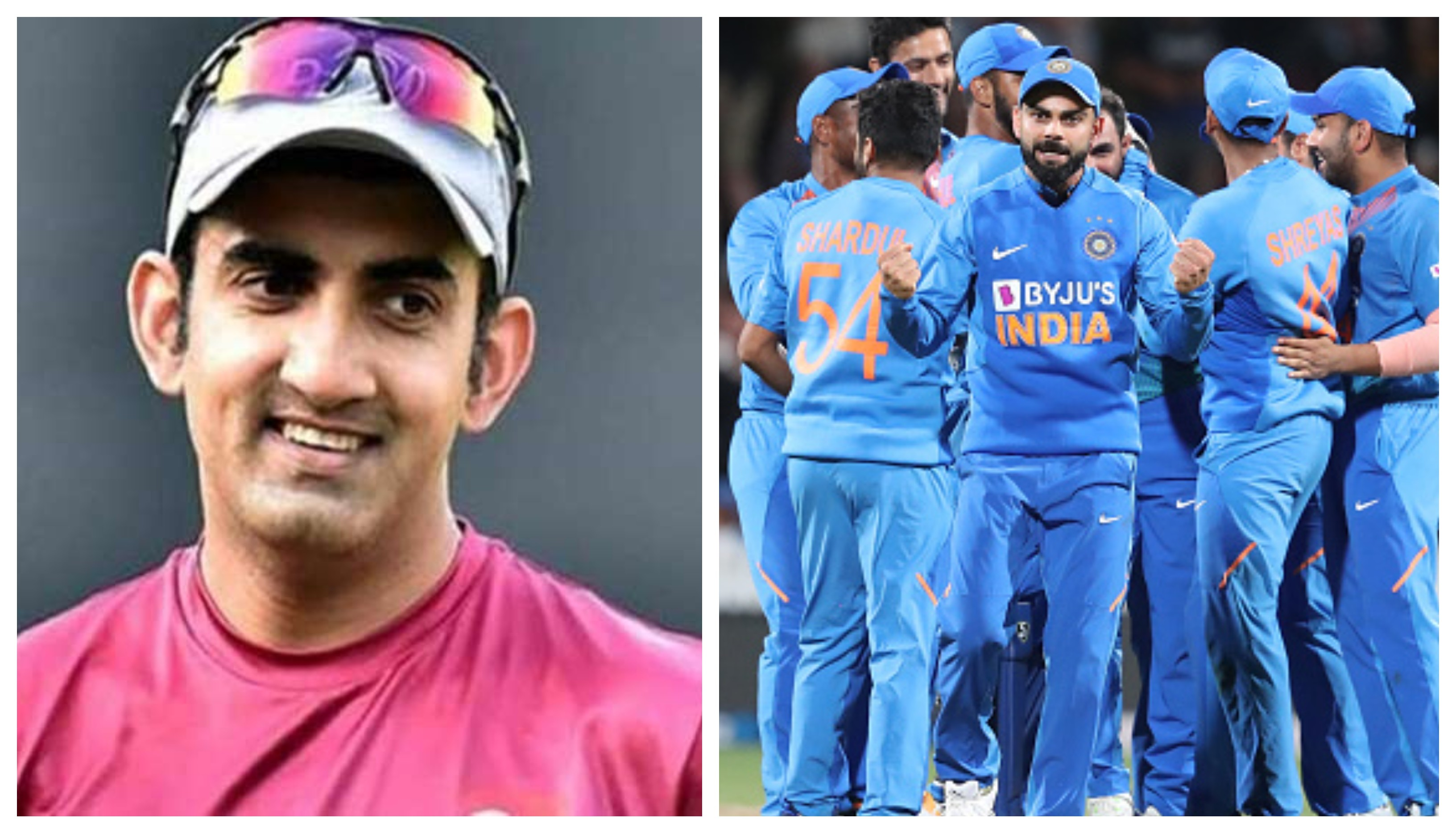 Gautam Gambhir hails fitness level of current Indian cricketers