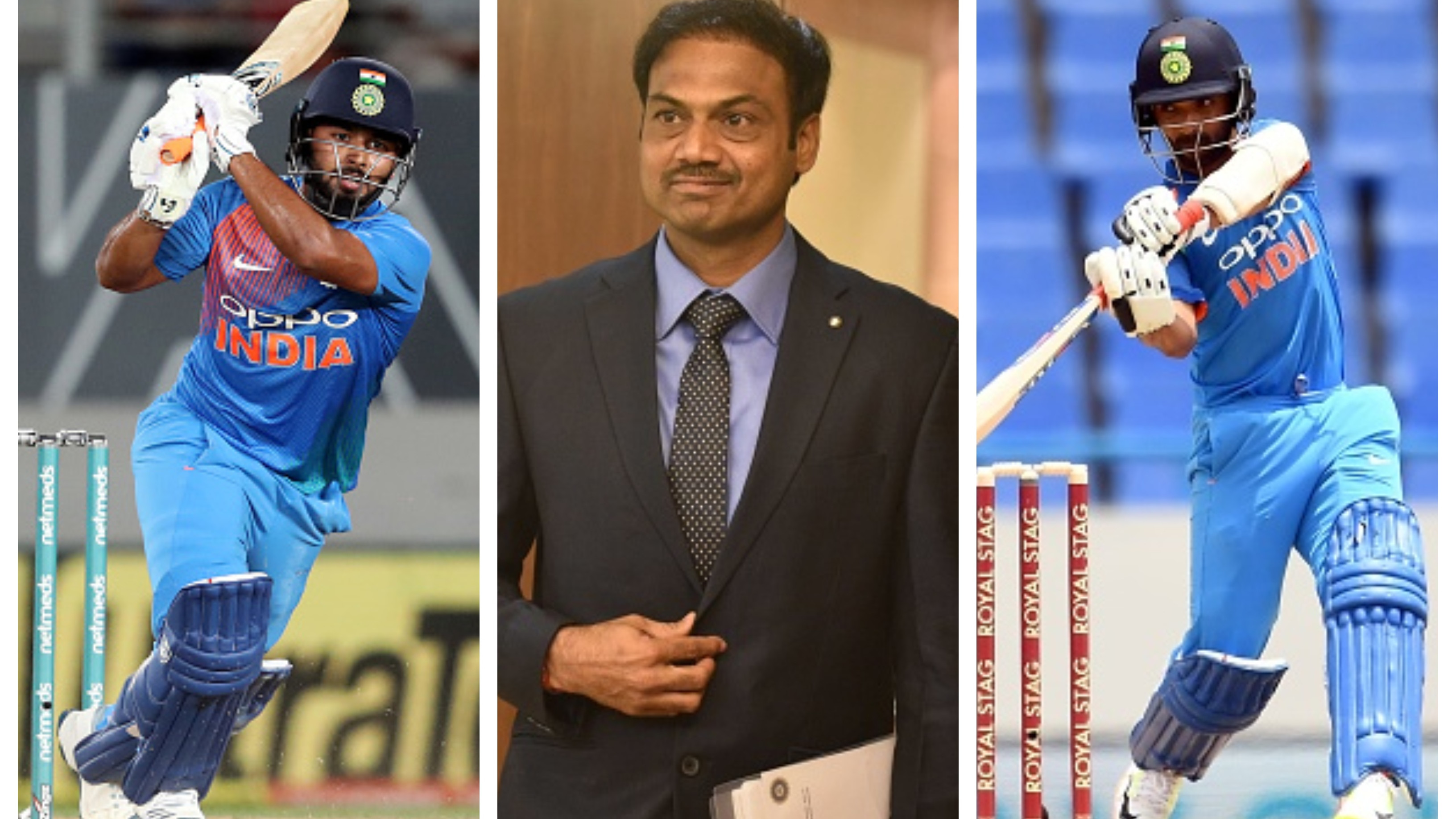 Rishabh Pant and Ajinkya Rahane are part of India's World Cup plans, confirms chief selector MSK Prasad